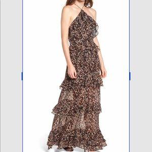 Dresses & Skirts - Long leopard noir